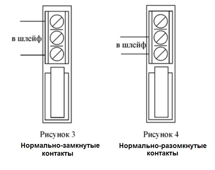 (контакты на Рисунке 3).